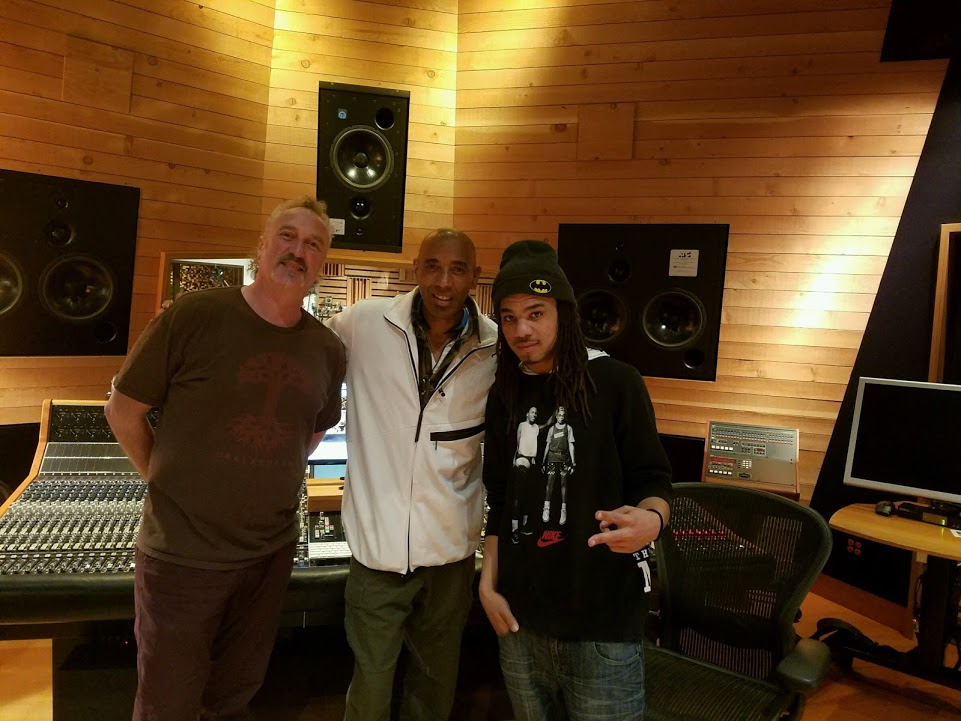 Multi-Platinum Engineer Dale 'D-Wiz' Everingham, Jerry Davis and BSMG Recording Artist A.T. Wally