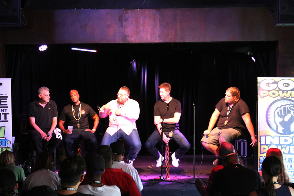 Producers Panel Presented and Indie Entertainment Summit