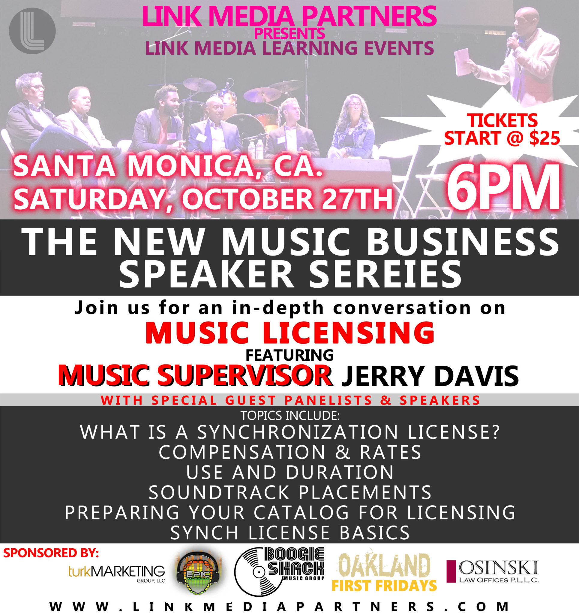 LMP Learning Presents - Santa Monica 2